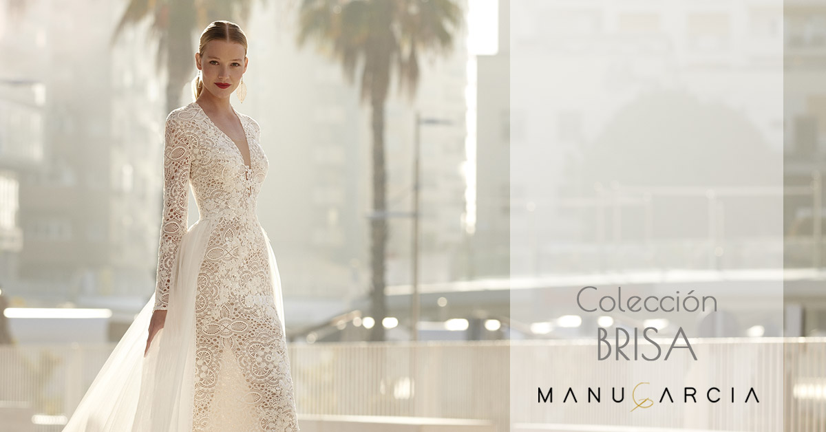 Discover Brisa, the new collection of wedding dresses by Manu García