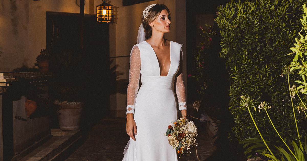 Inma Cano and her personalized Manu García wedding dress, a wonderful experience