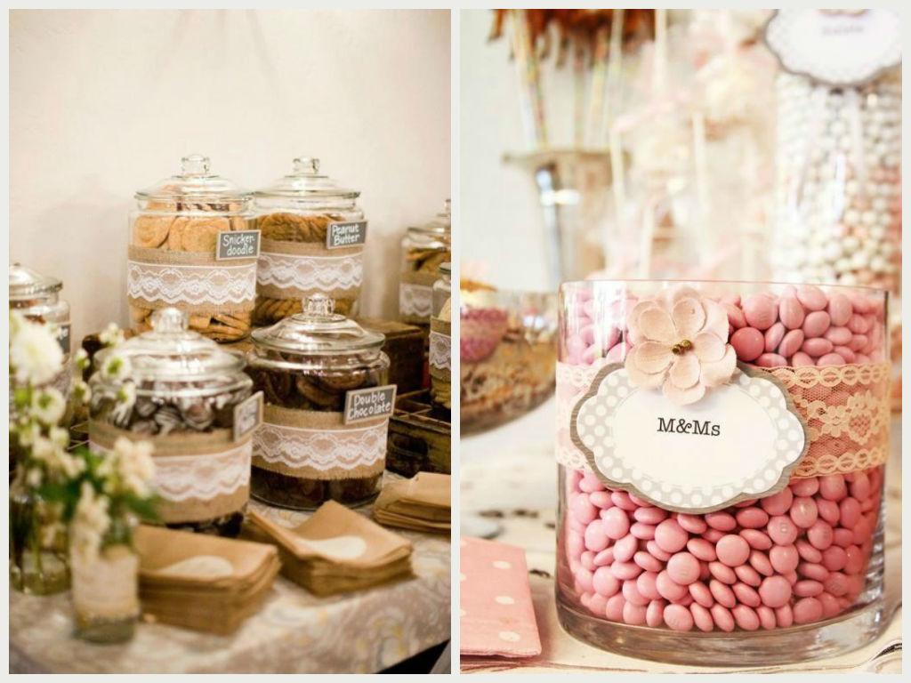 C mo preparar t misma el candy bar para la boda blog - Como disenar un bar en casa ...