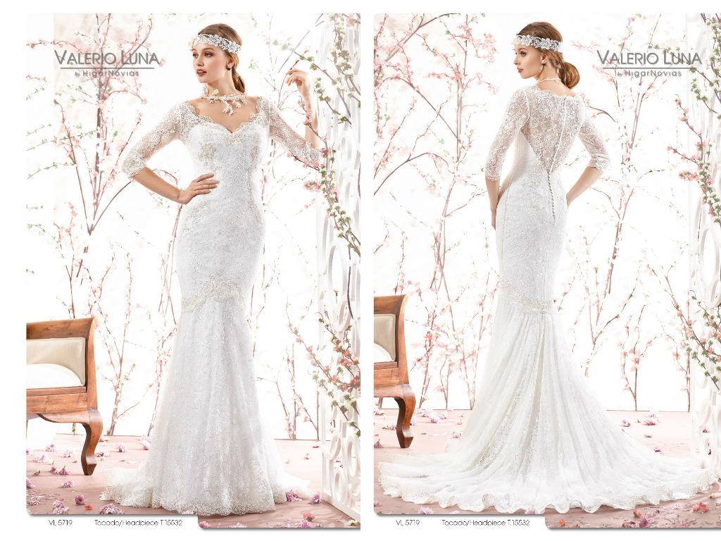 6 vestidos de novia para bodas de invierno | Blog HigarNovias