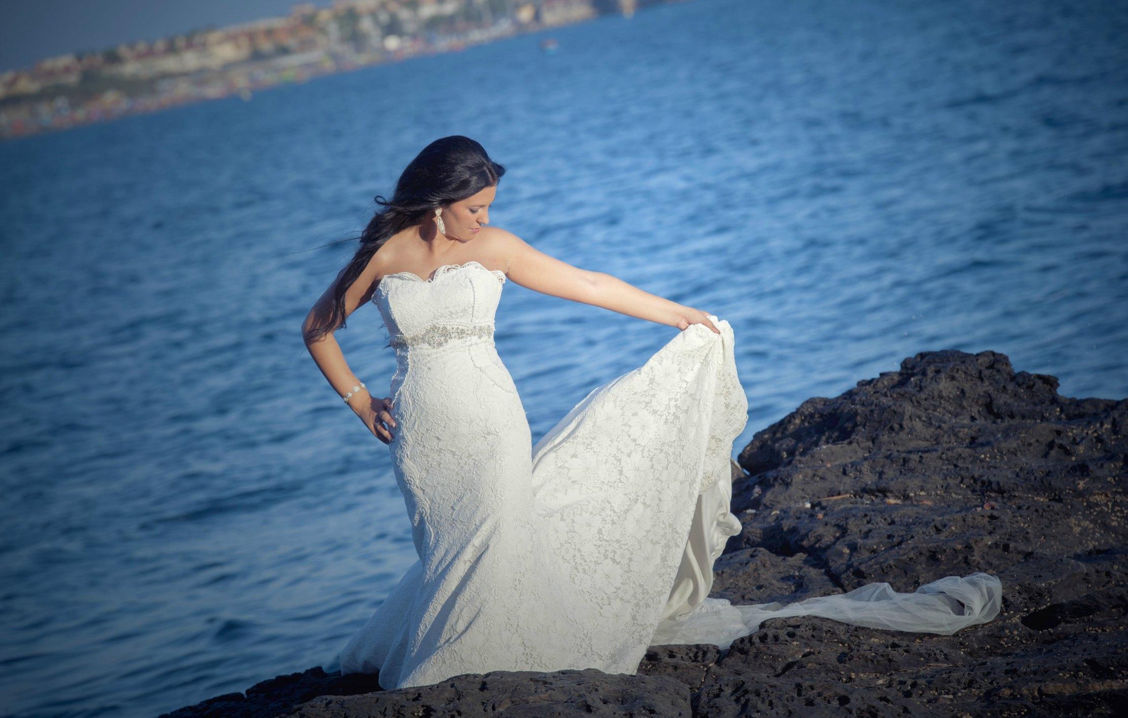 El vestido elegido por Ana Belén para su boda | Blog HigarNovias