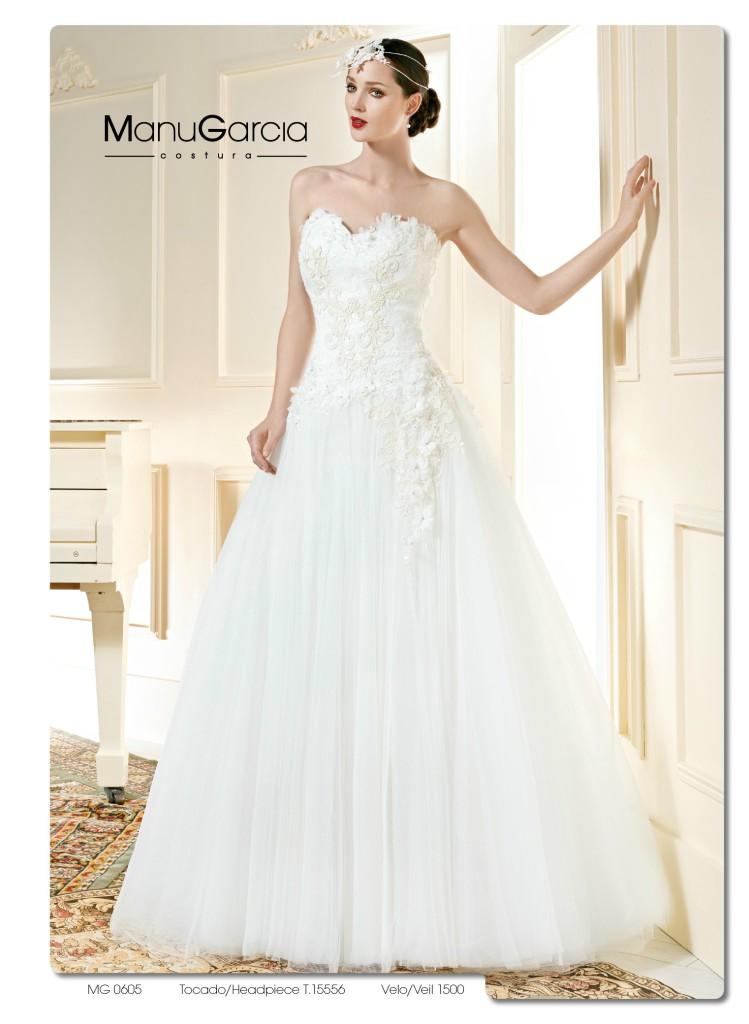 vestidos de novia palabra de honor | blog higarnovias