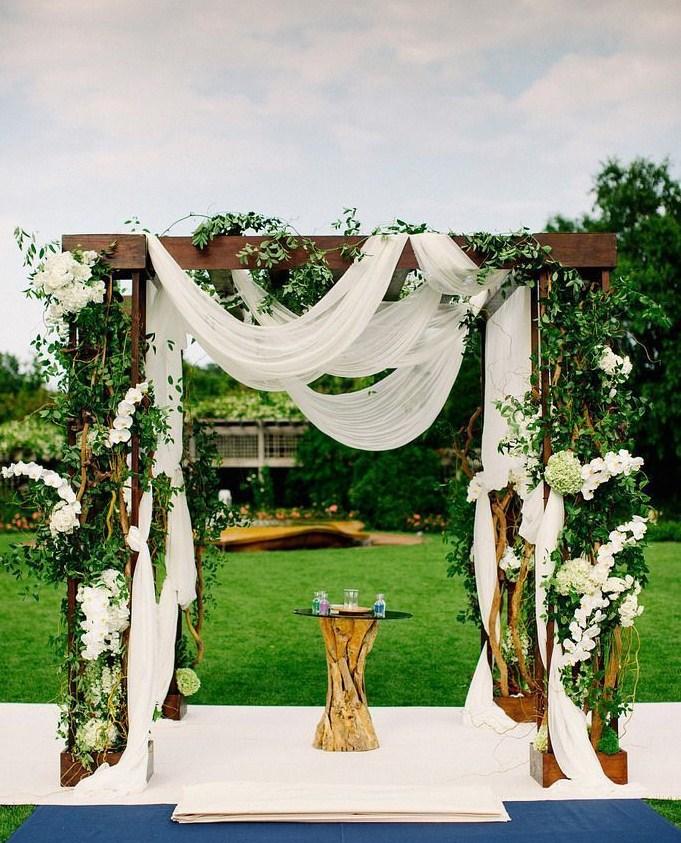 Ideas de altar para bodas al aire libre blog higarnovias - Decoracion para bodas al aire libre ...