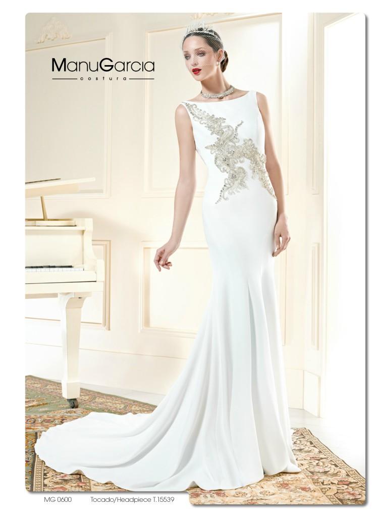 b1504f38ec Escote barco en tu vestido de novia