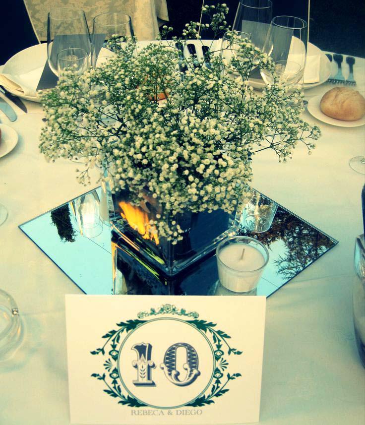 Mesas de cristal para bodas esta idea ademas de ser muy - Mesas de cristal para bodas ...
