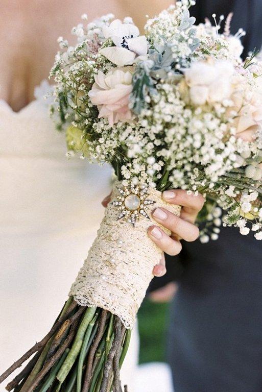 elementos para atar el ramo de novia   blog higarnovias