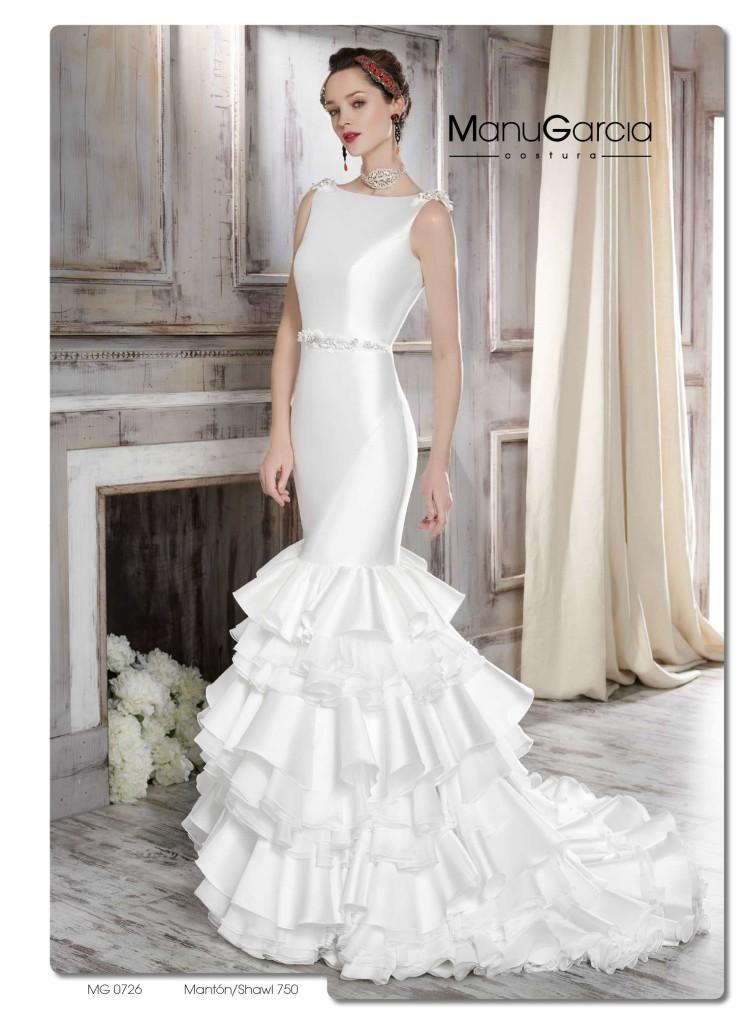 falda con volantes para tu vestido de novia. colección 2016 | blog