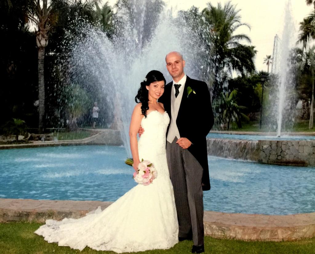 El vestido elegido por Tamara para su boda | Blog HigarNovias
