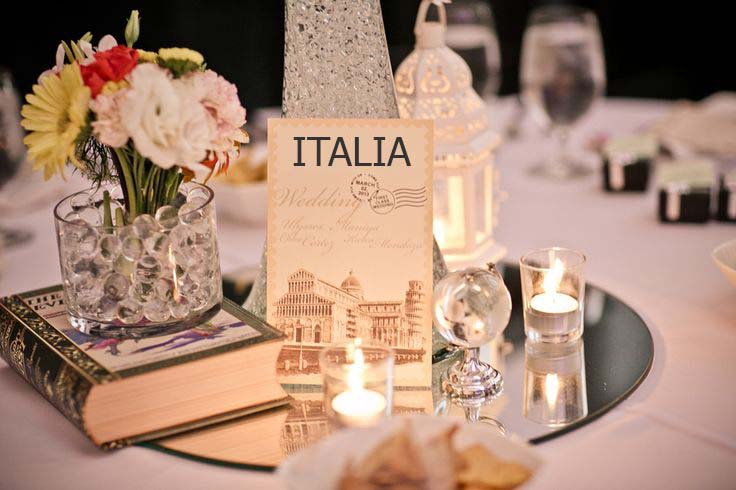 3 ideas originales para numerar las mesas de la boda for International decor uk