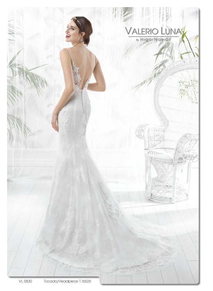 colección 2016. escote en la espalda para tu vestido de novia