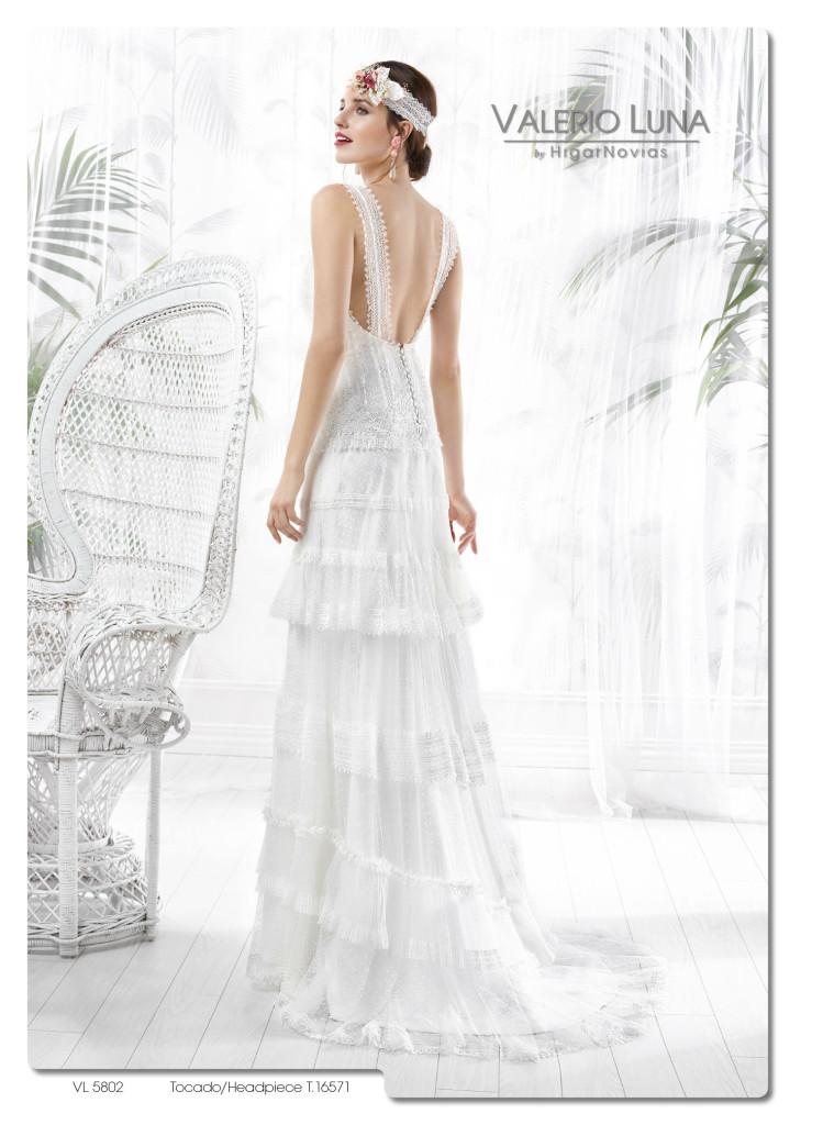 la magia de los vestidos de novia de valerio luna colección 2016