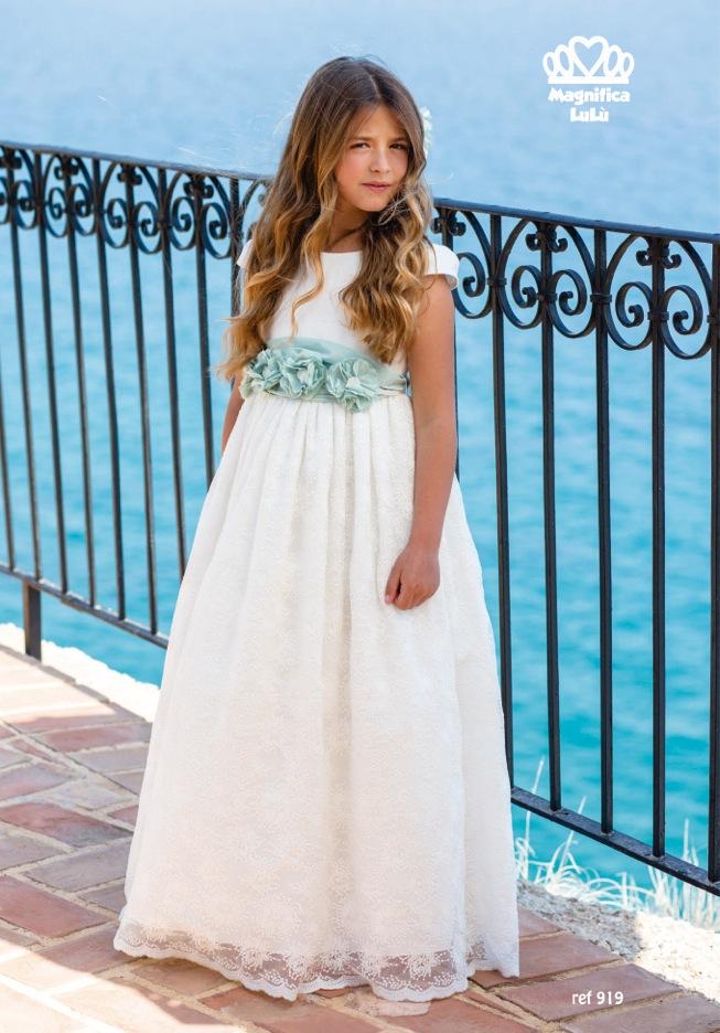 Vestidos comunion magnifica lulu 2019