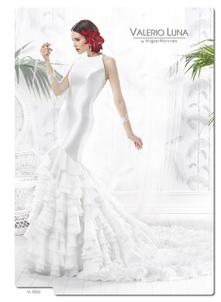vestidos de novia inspiración flamenca | blog higarnovias