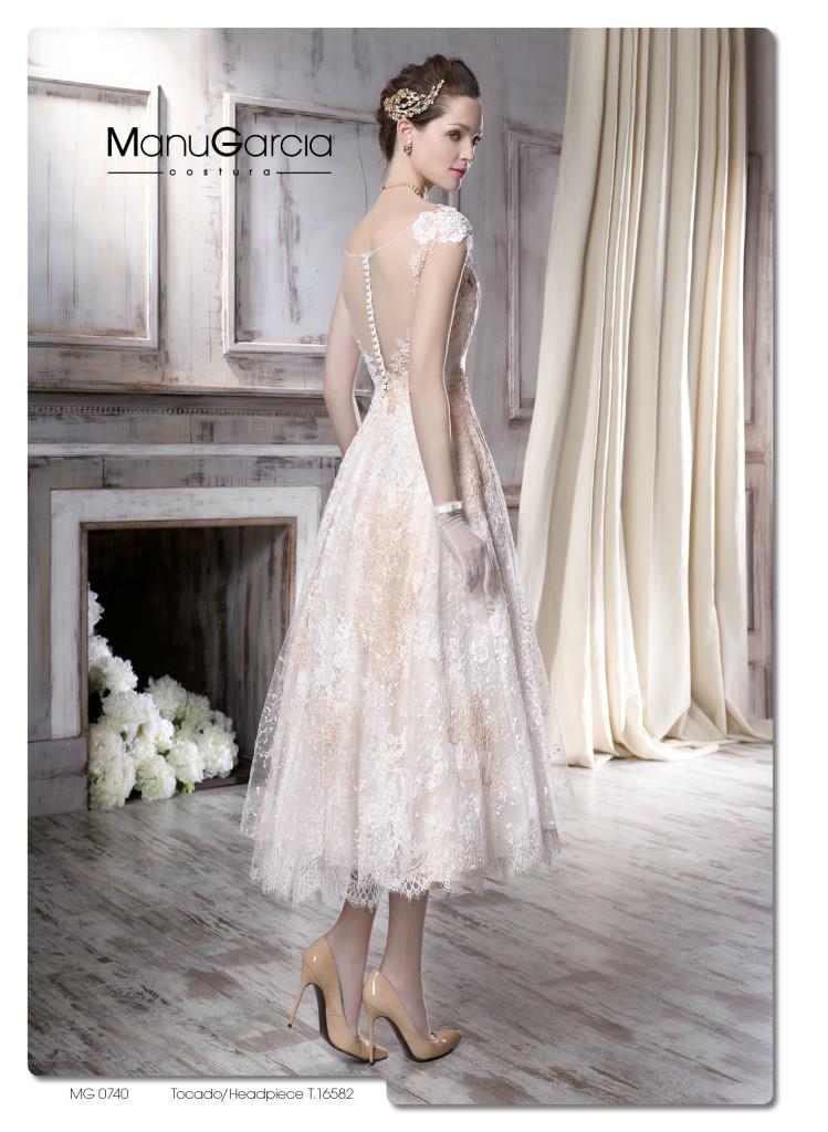 Vestidos de novia cortos higar novias