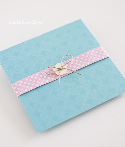 Aprende a hacer un sobre para cd para regalar en tu boda - Como decorar un sobre ...