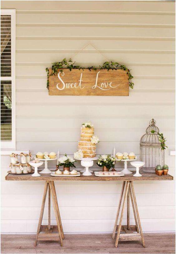 habis pensado en poner en vuestra boda una mesa de dulces a modo de buf una mesa con una decoracin muy cuidada donde habr dulces de diferentes tipos