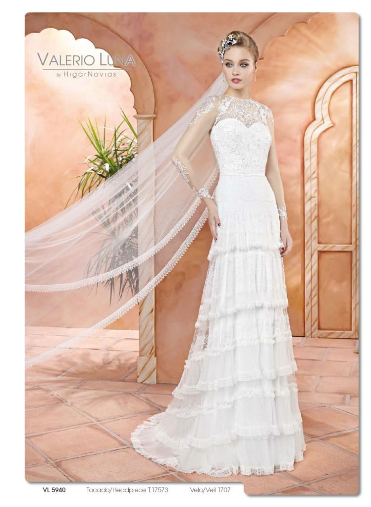 avance de la nueva colección novia 2017 – valerio luna ceremonia