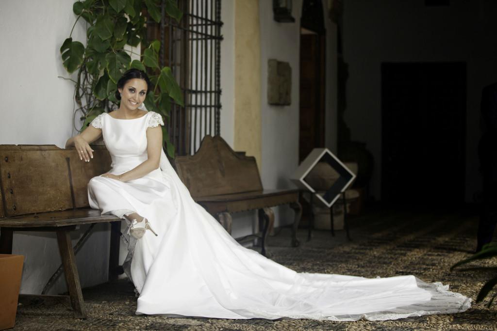 el vestido elegido por cristina para su boda | blog higarnovias