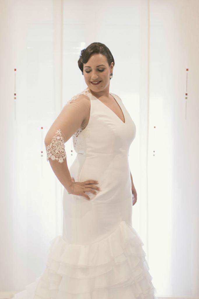el vestido elegido por marta para su boda | blog higarnovias