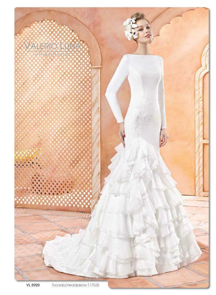 luce un vestido de novia con aire andaluz | blog higarnovias