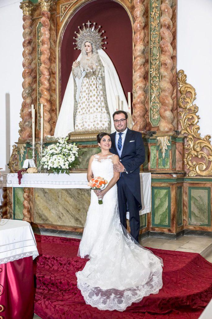 el vestido de novia elegido por nieves para su boda   blog higarnovias
