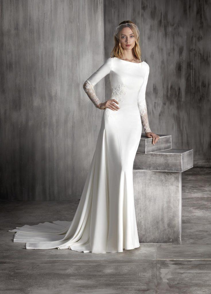 vestidos de novia. bodas 2018 | blog higarnovias