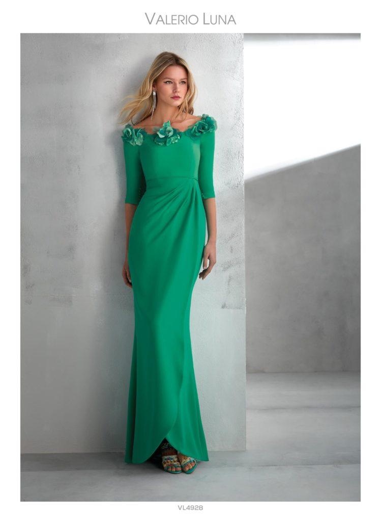 algunas propuestas para vestir a la madrina de la boda. colección