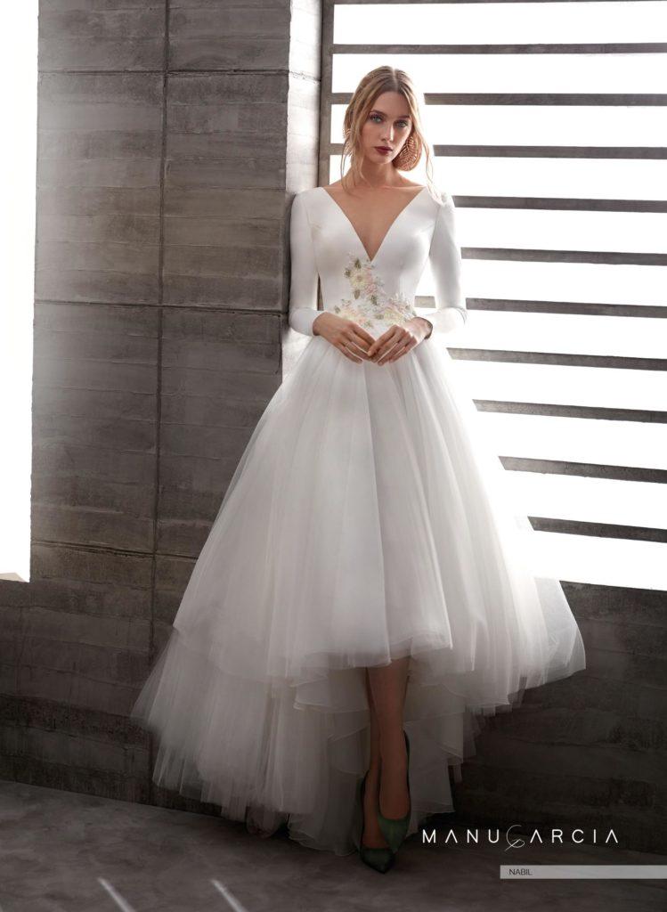 75e3b70865 Sorprende con estos vestidos de novia de la nueva colección 2019 ...