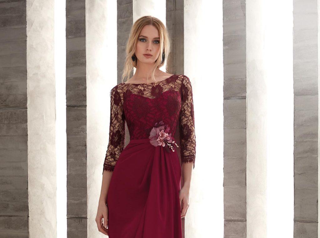 Vestidos para madrina de boda otono invierno 2019