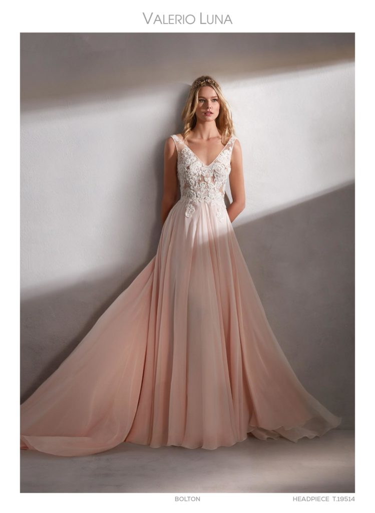 Wedding dresses created to shine on your
