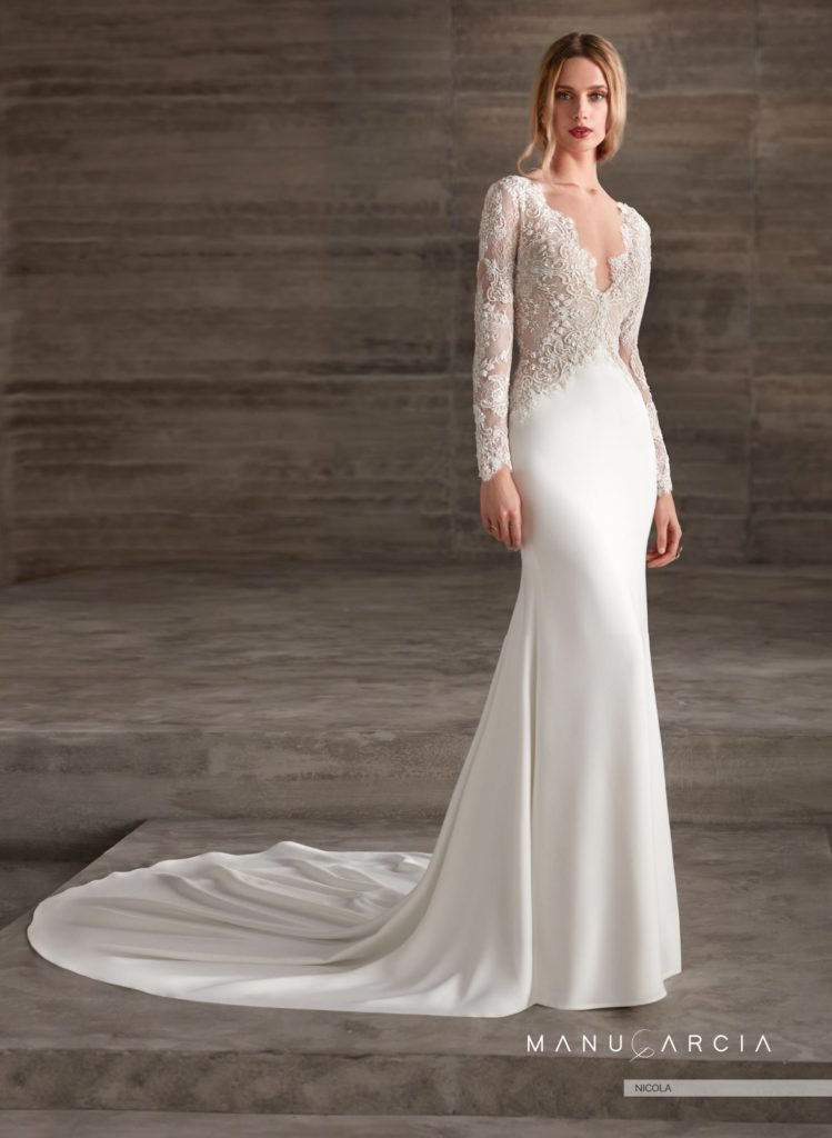 new 2019 bridal collection. dresses with long sleeves. part 2 | blog