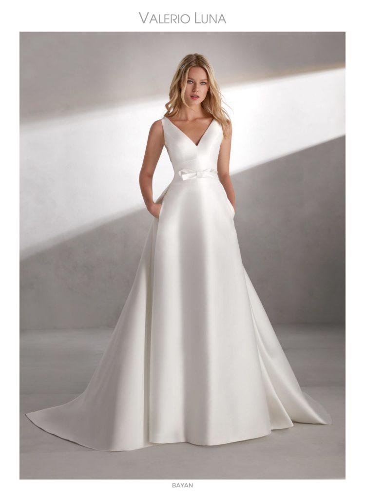 nuevos diseños de vestidos de novia sencillos y minimalistas | blog