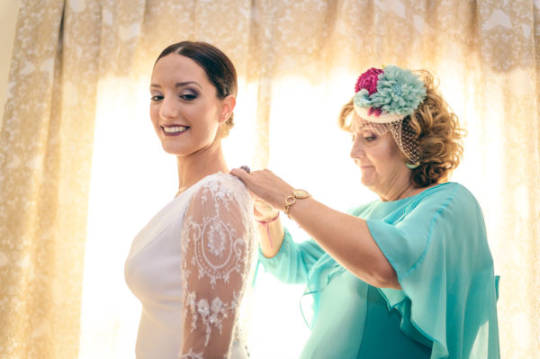 Beatriz Rodriguez y su abuela