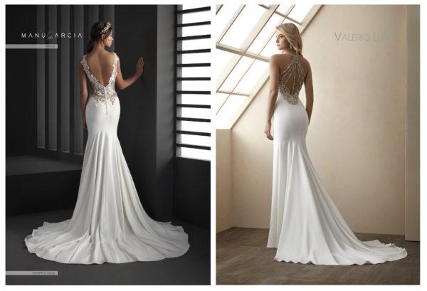 Vestidos de novia con escotes-joya