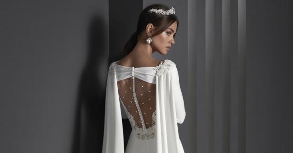 CABECERA - Escotes de espalda en vestidos de novia