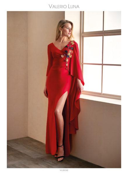 Vestido de fiesta VL5032 de Valerio Luna