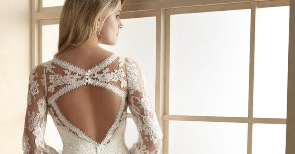vestidos de novia Efecto Tattoo