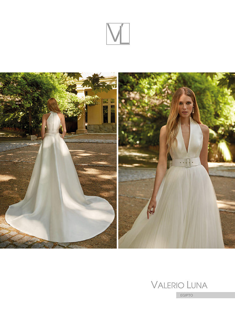 Amazónica es la nueva colección de vestidos de novia de Valerio Luna